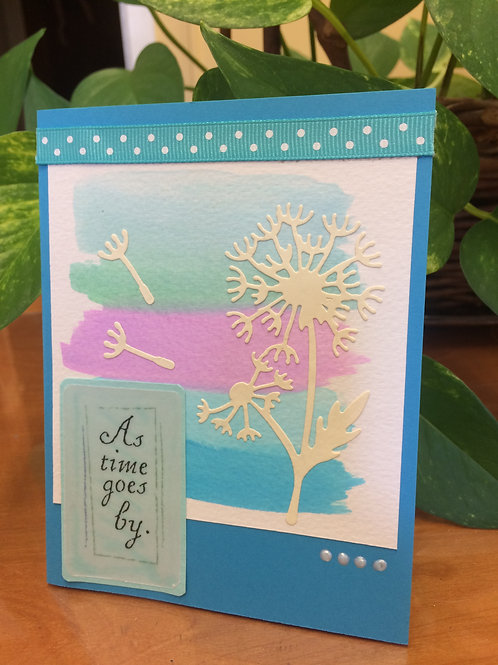 Dandelion in the Breeze Card