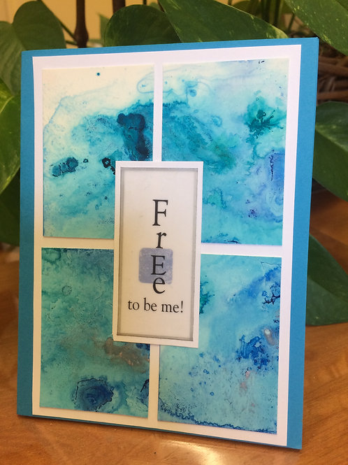 Free to Be Me Card