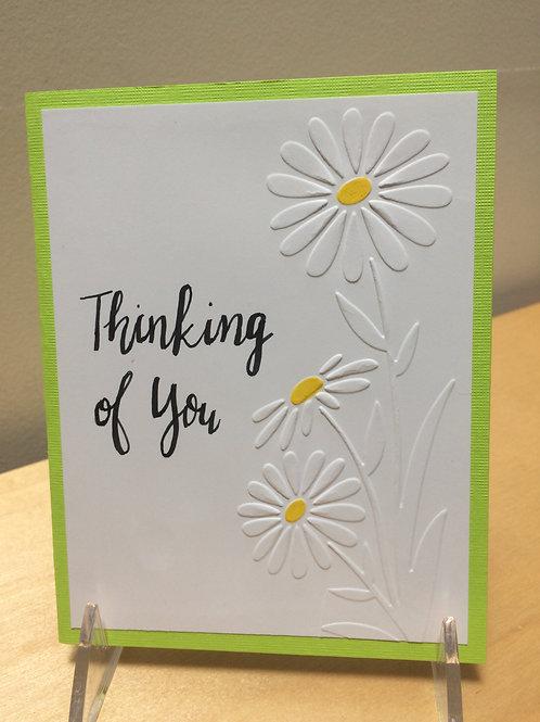 Thinking of You Daisy Card