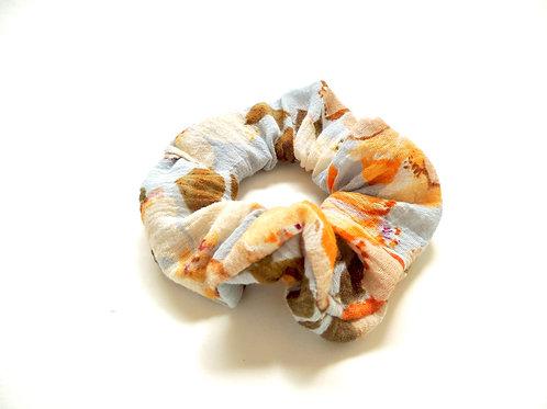 Flower Pattern Scrunchie