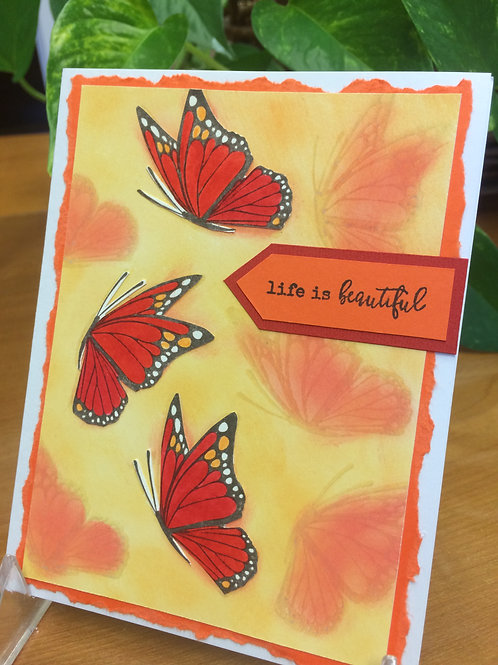 Butterfly Wonder Card