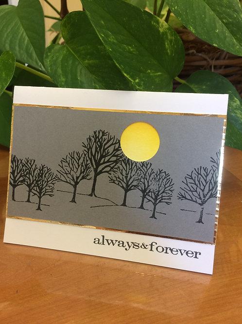 Always & Forever Sunset Card