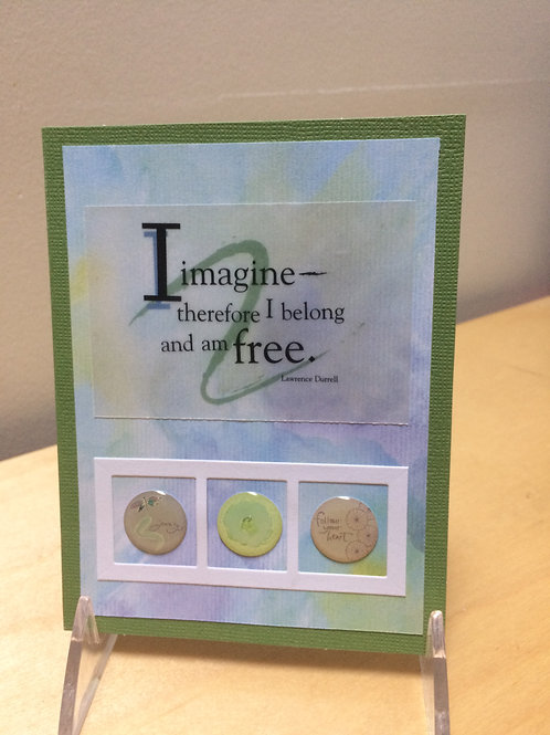 I Imagine Inspirational Card