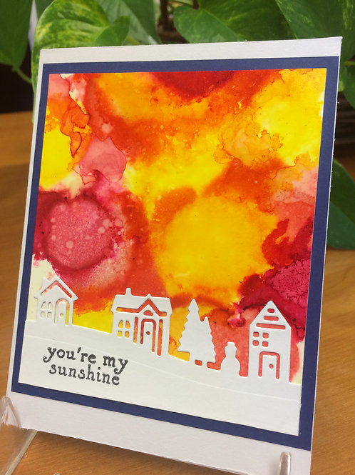 You're My Sunshine Village Card