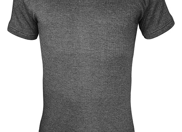 Mens Cotton Thermal Underwear Short Sleeve Vest