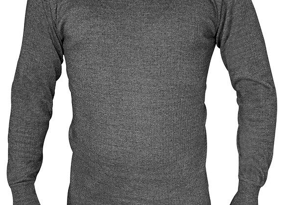 Mens Cotton Thermal Underwear Long Sleeve Vest