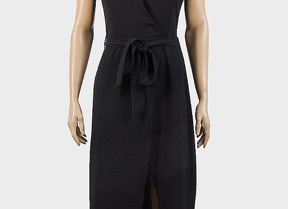 Ladies Sleeveless Belted Dress