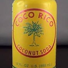 Coco Rico Can of Soda