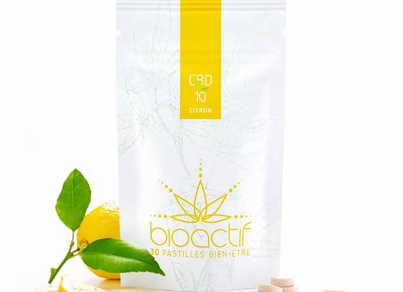 Pastilles BioActif CBD Citron 10mg x30