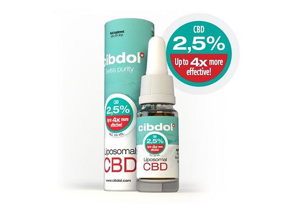 Huile de CBD liposomale Cibdol 2,5%
