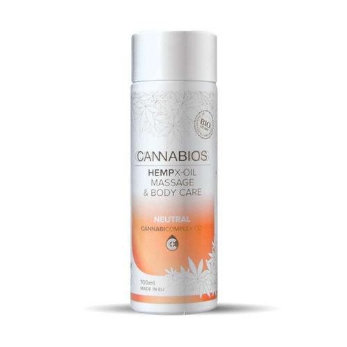 Huile de Massage Neutre & Cannabidiol (CBD) 100mL