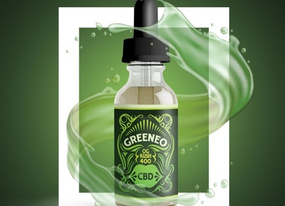 Greeneo OG Kush E-Liquide avec CBD et Terpènes 50mg