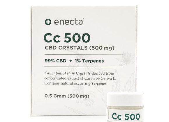 Enecta Cc500 ou 1000 CBD Crystals