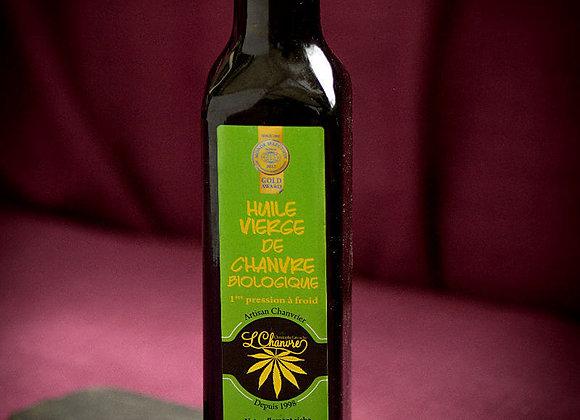 L'Chanvre huile vierge de chanvre biologique, première pression à froid