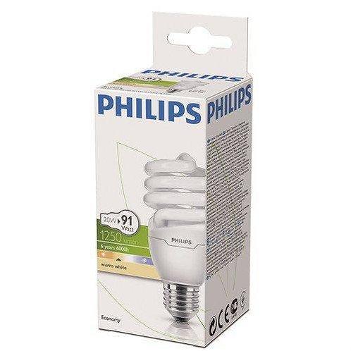 Philips Tasarruflu Twister 20W Sarı Işık Normal Duy 12 Li