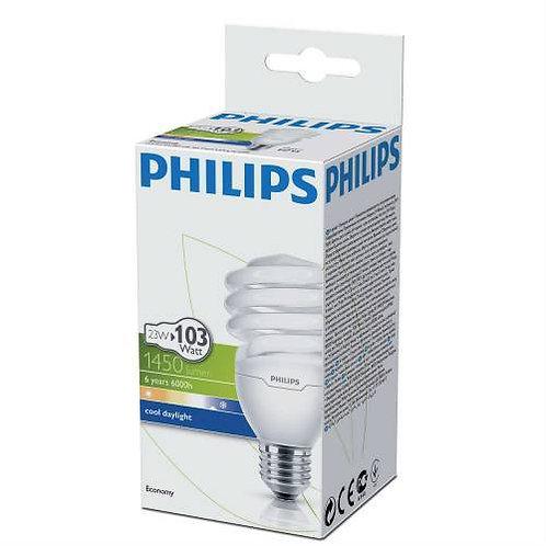 Philips Tasarruflu Twister 23W Beyaz Işık Normal Duy 12 Li Paket