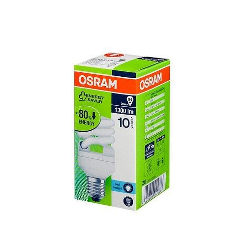 Osram Tasarruflu 20W 1300 Lümen Beyaz Işık E27 Ampul 10 lu Paket