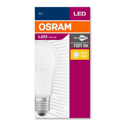 Osram Led CLA 100 13W 1521 Lümen Sarı Işık E27 Ampul 10'Lu Paket
