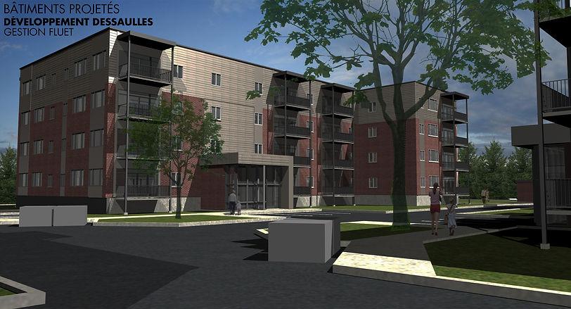 Plan 3D Le Notre-Dame Phase II