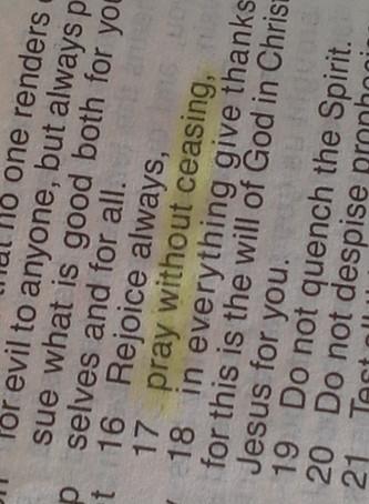 Lessons in Prayer