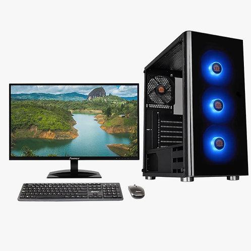 "Janus Core i5 10400 2,9Ghz, Ram 8Gb RGB, Disco Solido 256Gb, Monitor Janus 21.5"""