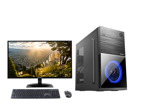 """Janus AMD Ryzen 3-2200G, Ram 8Gb, Disco 240GB, Monitor Janus 24"""""""