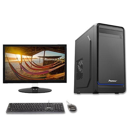 "Janus Intel Celeron G4930 3,2 GHz, RAM 4Gb, Disco 1TB, Monitor Janus 20"""