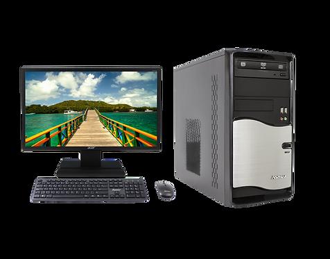 "Janus Intel Celeron 2.0Ghz, RAM 4Gb, Disco Duro  1000GB, Monitor Janus 21.5"""