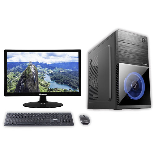"""Janus Intel Core i7 9700 3,0Ghz, Ram 8Gb, Disco 240GB, Monitor Janus 22"""""""