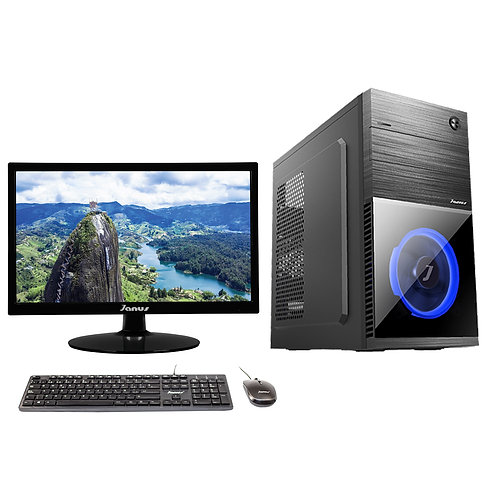 Janus Intel Core i3 9100 Ram 8Gb, Disco 1TB, Monitor Janus 22""