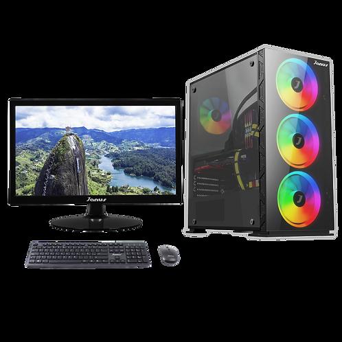 """Janus Intel Core i5 10400F 2,9Ghz, Ram 8Gb RGB, Disco 240GB, Monitor Janus 22"""""""