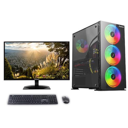 """Janus Intel Core i3 10100, Ram 8GB RGB, Disco 240GB, Monitor Janus 24"""""""