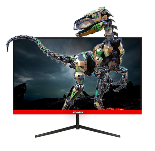 "MONITOR JANUS IPS 24"" GAMER 144HZ, PLANO Resolución 1920 x 1080 FULL HD"