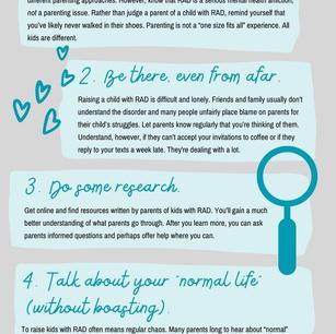 5 Ways to Support RAD Parents