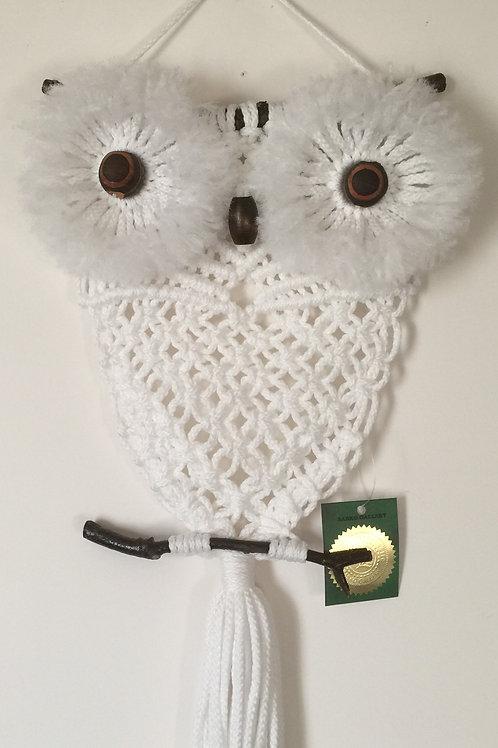OWL #194 Macrame Wall Hanging, macrame owl