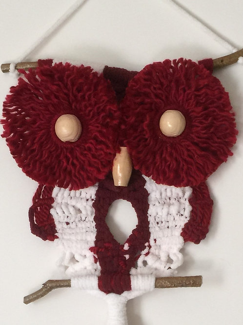 OWL #154 Macrame Wall Hanging, macrame owl