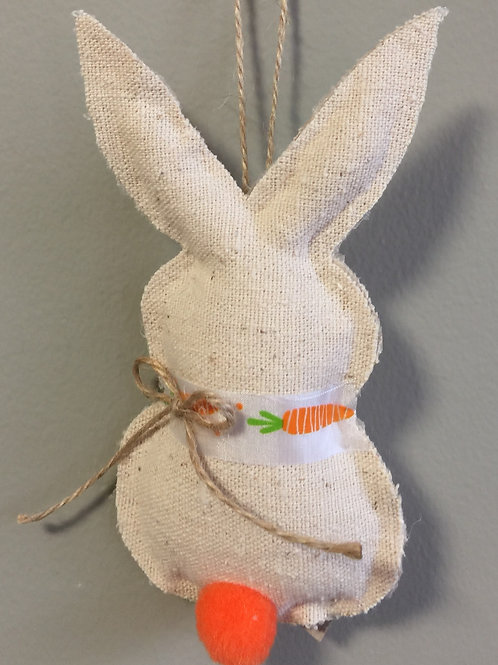 HANGING EASTER BUNNY Small (MU-10)