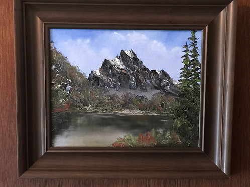 "GIANT original oil painting 11""x14"","