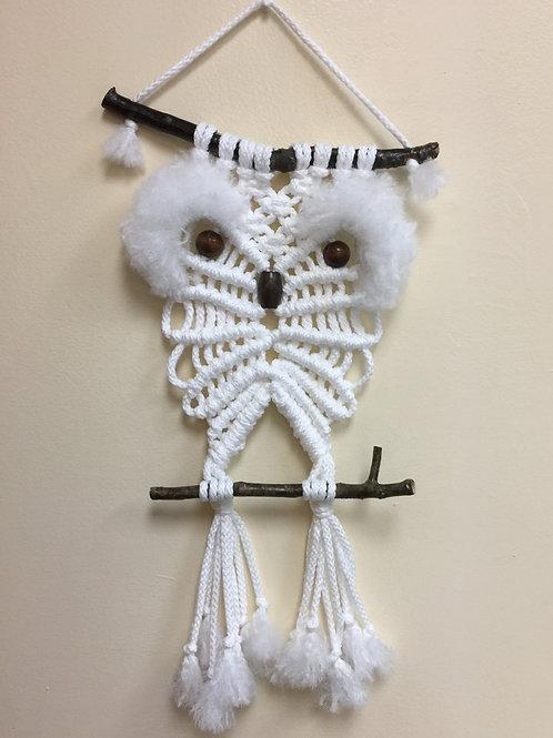 OWL #196 Macramé Wall Hanging, macramé owl