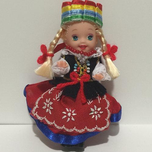 """DOLLY with Polish Folk Dress """"KUJAWSKI"""""""