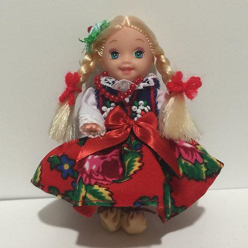 """DOLLY with Polish Folk Dress """"PODHALANSKI"""""""