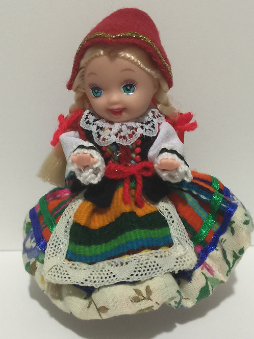"DOLLY with Polish Folk Dress ""PODLASKI"""