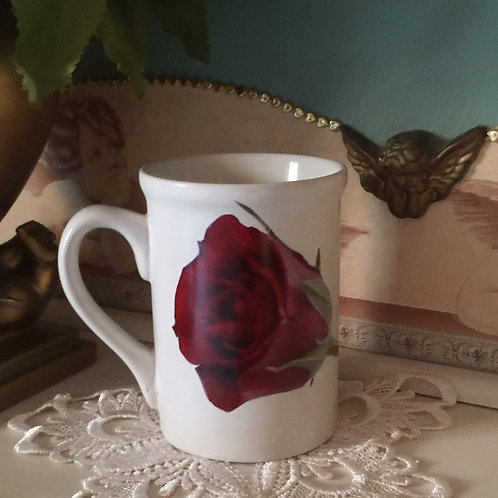ROSE  VALENTINE'S DAY Decorated Coffee Mug