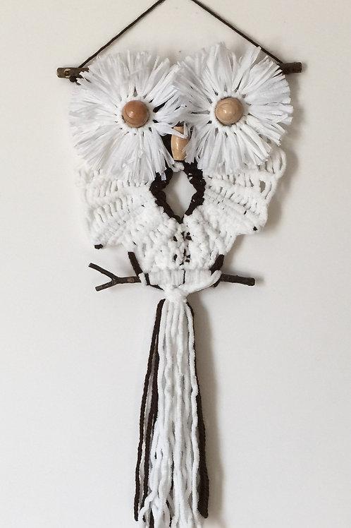 OWL #151 Macrame Wall Hanging, macrame owl
