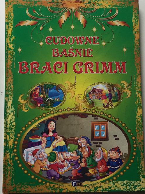 CUDOWNE BASNIE BRACI GRIMM praca zbiorowa 2013