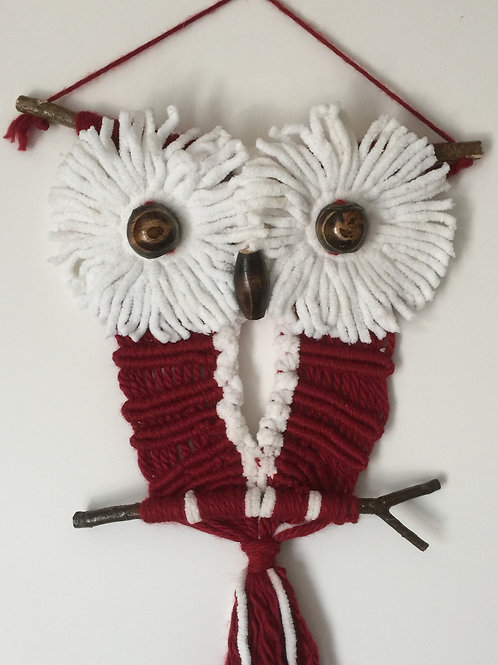 OWL #156 Macrame Wall Hanging, macrame owl