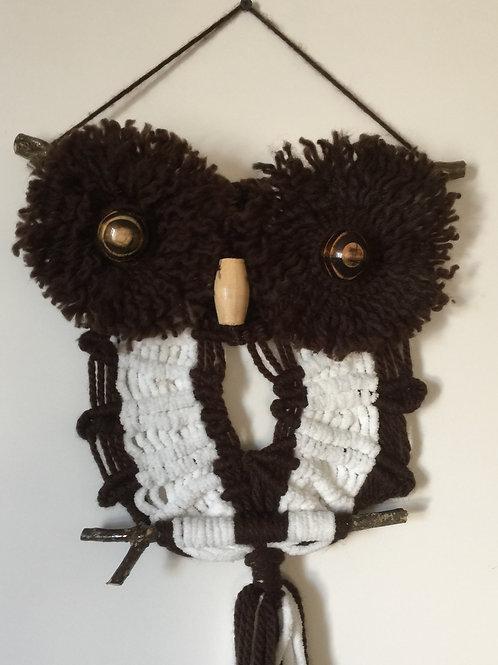 OWL #152 Macrame Wall Hanging, macrame owl