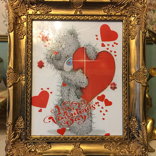 HAPPY VALENTINE'S DAY Mixed Media Picture