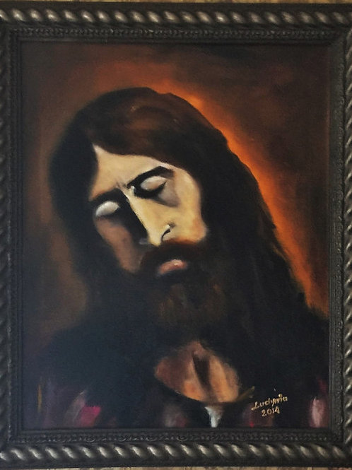 JESUS CHRIST (15) original oil painting on canvas 16 x 20