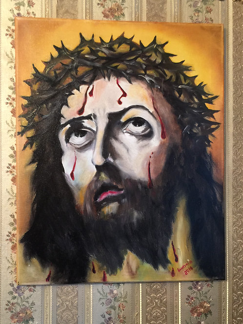 TORMENT JESUS oil painting on canvas